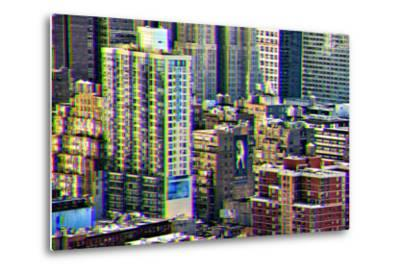 After Twitch NYC - Manhattan Buildings-Philippe Hugonnard-Metal Print