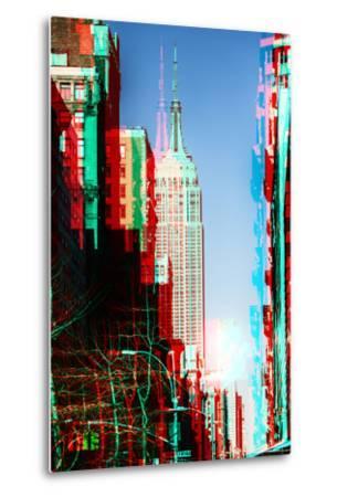 After Twitch NYC - Manhattan Winter-Philippe Hugonnard-Metal Print
