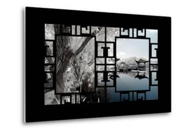 China 10MKm2 Collection - Asian Window - Another Look Series - Blue Lagoon-Philippe Hugonnard-Metal Print