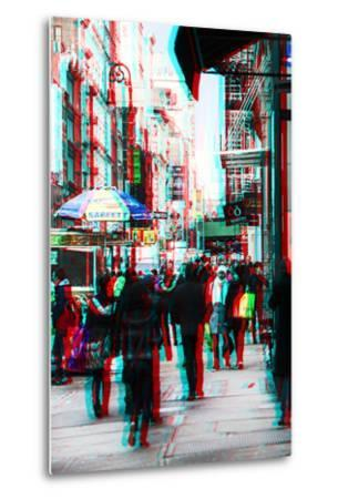 After Twitch NYC - Winter Walk-Philippe Hugonnard-Metal Print