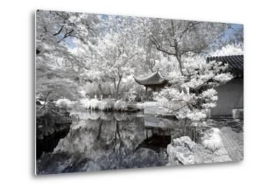 China 10MKm2 Collection - Another Look - White Pavilion-Philippe Hugonnard-Metal Print