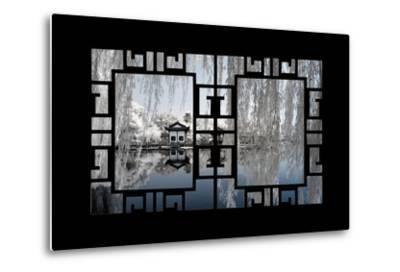China 10MKm2 Collection - Asian Window - Another Look Series - White Reflections-Philippe Hugonnard-Metal Print