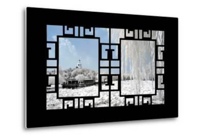 China 10MKm2 Collection - Asian Window - Another Look Series - Beihai Park-Philippe Hugonnard-Metal Print