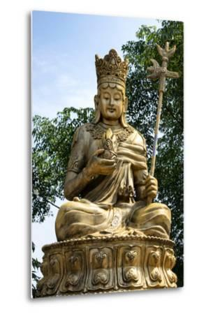 China 10MKm2 Collection - Buddhist Statue-Philippe Hugonnard-Metal Print