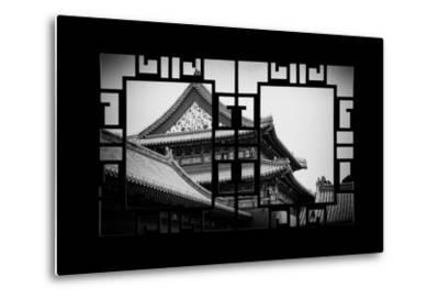 China 10MKm2 Collection - Asian Window - Forbidden City-Philippe Hugonnard-Metal Print