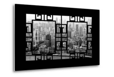 China 10MKm2 Collection - Asian Window - Shanghai View-Philippe Hugonnard-Metal Print