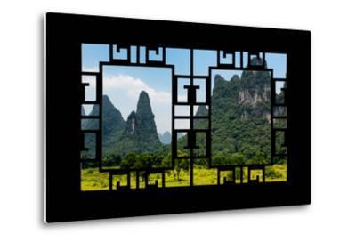 China 10MKm2 Collection - Asian Window - Karst Mountains-Philippe Hugonnard-Metal Print