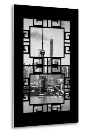China 10MKm2 Collection - Asian Window - Shanghai Tower-Philippe Hugonnard-Metal Print