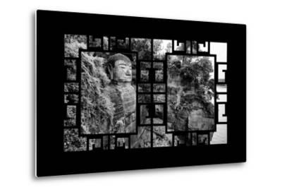 China 10MKm2 Collection - Asian Window - Giant Buddha of Leshan-Philippe Hugonnard-Metal Print