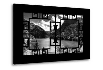 China 10MKm2 Collection - Asian Window - Great View of Lake in the Jiuzhaigou National Park-Philippe Hugonnard-Metal Print