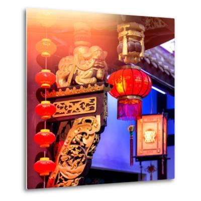 China 10MKm2 Collection - Chinese Lanterns-Philippe Hugonnard-Metal Print
