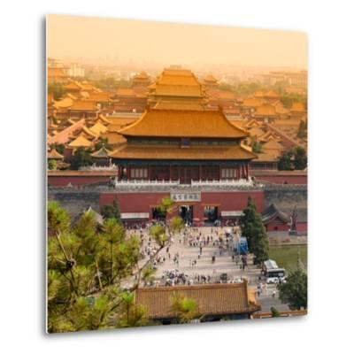 China 10MKm2 Collection - Forbidden City - Beijing-Philippe Hugonnard-Metal Print