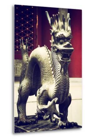 China 10MKm2 Collection - Dragon-Philippe Hugonnard-Metal Print