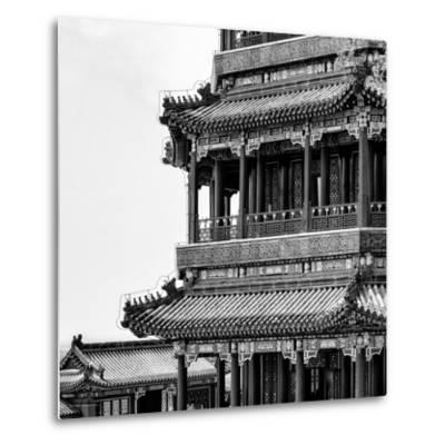 China 10MKm2 Collection - Detail of Summer Palace-Philippe Hugonnard-Metal Print