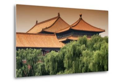 China 10MKm2 Collection - Forbidden City Architecture-Philippe Hugonnard-Metal Print
