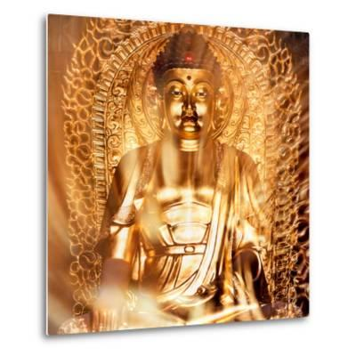 China 10MKm2 Collection - Gold Buddha-Philippe Hugonnard-Metal Print