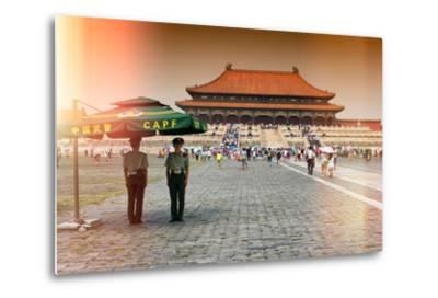China 10MKm2 Collection - Instants Of Series - Forbidden City-Philippe Hugonnard-Metal Print