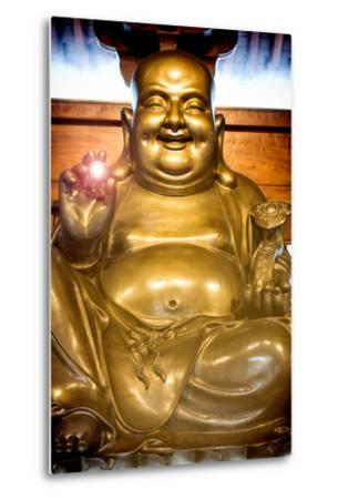 China 10MKm2 Collection - Instants Of Series - Gold Buddha-Philippe Hugonnard-Metal Print