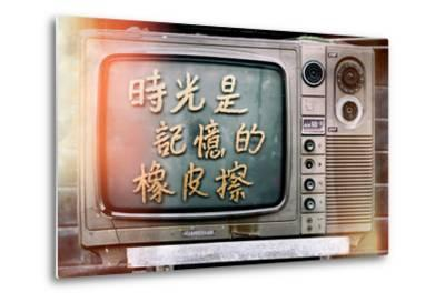 China 10MKm2 Collection - Instants Of Series - Retro TV-Philippe Hugonnard-Metal Print