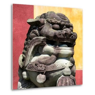 China 10MKm2 Collection - Guardian of the Temple-Philippe Hugonnard-Metal Print