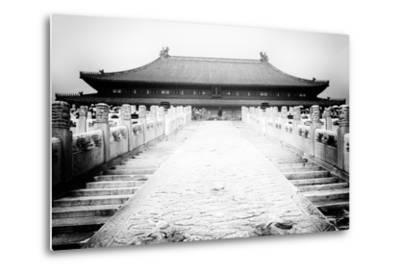 China 10MKm2 Collection - Stairs Forbidden City-Philippe Hugonnard-Metal Print