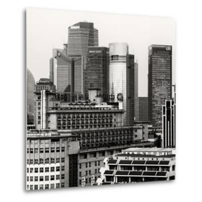 China 10MKm2 Collection - Shanghai Cityscape-Philippe Hugonnard-Metal Print
