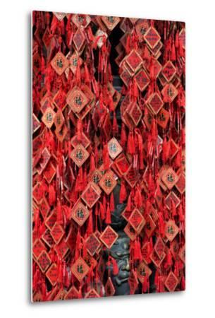 China 10MKm2 Collection - Prayer offering at a Temple-Philippe Hugonnard-Metal Print