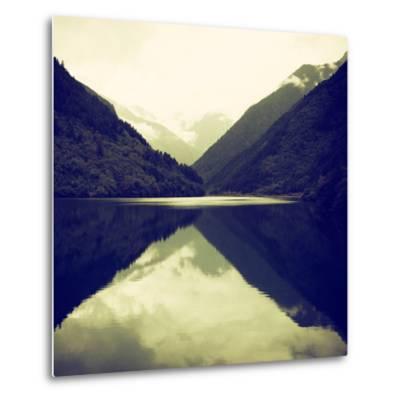 China 10MKm2 Collection - Rhinoceros Lake - Jiuzhaigou National Park-Philippe Hugonnard-Metal Print