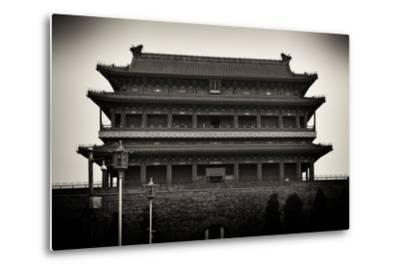 China 10MKm2 Collection - Qianmen-Philippe Hugonnard-Metal Print