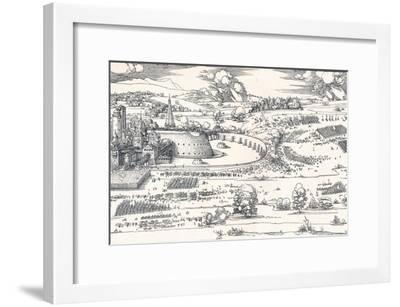 The Siege of a Fortress I, 1527-Albrecht D?rer-Framed Giclee Print