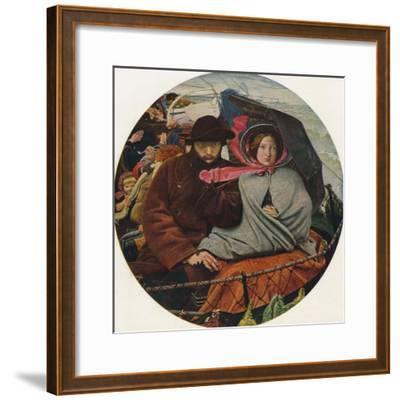 The Last of England, 1855-Ford Madox Brown-Framed Giclee Print