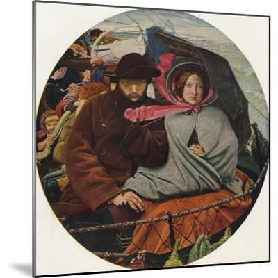 The Last of England, 1855-Ford Madox Brown-Mounted Giclee Print