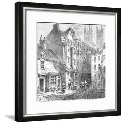 Caxtons House, Westminster, 1827--Framed Giclee Print