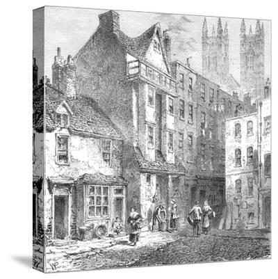 Caxtons House, Westminster, 1827--Stretched Canvas Print