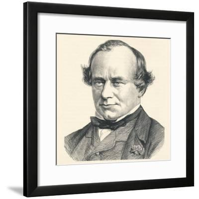Henry Bouverie William Brand, 23rd Baron Dacre and 1st Viscount Hampden (1814-1892), 1896--Framed Giclee Print