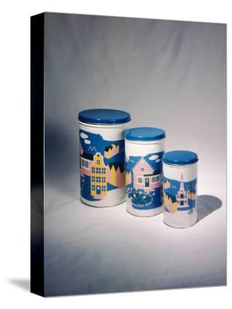 Best Selling Christmas Gifts - Tin Cans-Nina Leen-Stretched Canvas Print