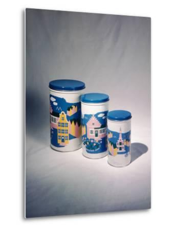 Best Selling Christmas Gifts - Tin Cans-Nina Leen-Metal Print
