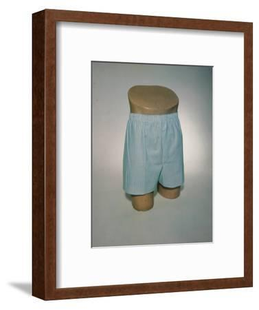 Best Selling Christmas Gifts - Boxers on Model Bust-Nina Leen-Framed Photographic Print