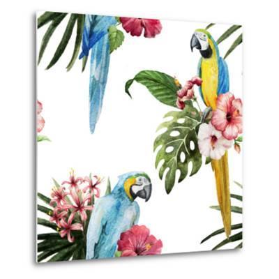 Birds-Zenina-Metal Print