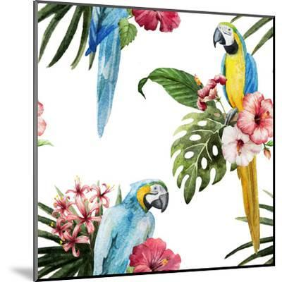 Birds-Zenina-Mounted Art Print