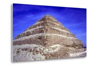 Step Pyramid of King Djoser (Zozer), Saqqara, Egypt, 3rd Dynasty, C2600 Bc- Imhotep-Metal Print