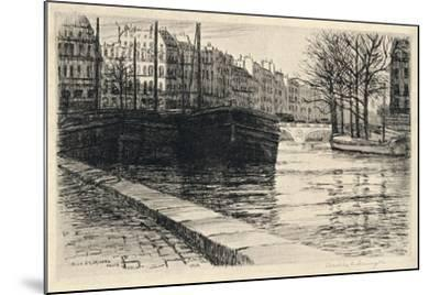 The Pont St Michel, 1915-Caroline Helena Armington-Mounted Giclee Print