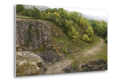 Stone Quarry, the National Stone Centre, Derbyshire, 2005-Peter Thompson-Metal Print