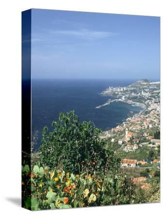 Panorama, Funchal, Madeira, Portugal-Peter Thompson-Stretched Canvas Print