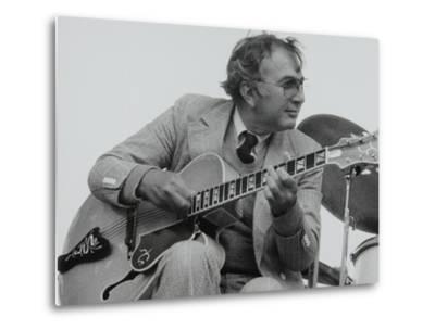 American Guitarist Bucky Pizzarelli on Stage at the Capital Radio Jazz Festival, London, 1979-Denis Williams-Metal Print