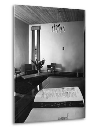 Chapel of Remembrance, Barnsley Co-Op, South Yorkshire, 1962-Michael Walters-Metal Print