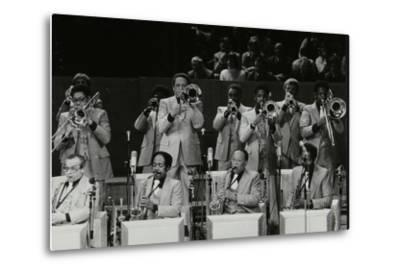 The Brass Section of the Count Basie Orchestra, Royal Festival Hall, London, 18 July 1980-Denis Williams-Metal Print