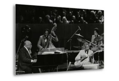 The Count Basie Orchestra in Concert at the Royal Festival Hall, London, 18 July 1980-Denis Williams-Metal Print