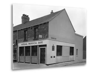 The National Provincial Bank, Goldthorpe, South Yorkshire, 1960-Michael Walters-Metal Print