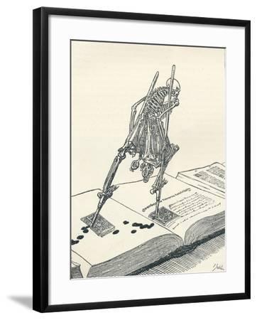 The Modern Dance of Death, C1895-Joseph Kaspar Sattler-Framed Giclee Print
